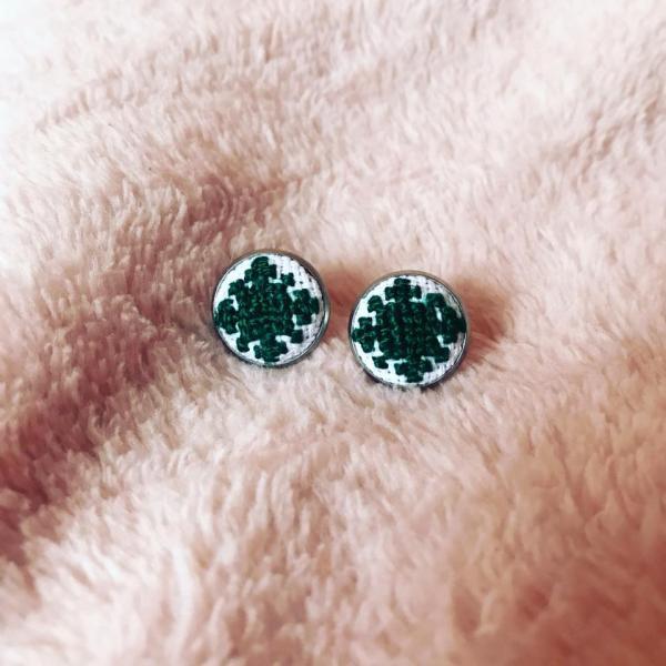 Cercei Verde Smarald