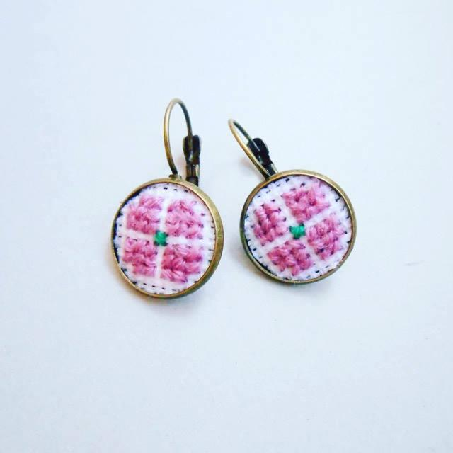 Cercei roz prafuit
